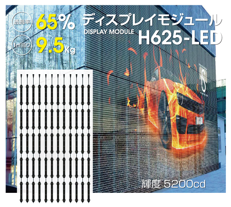 ディスプレイモジュールH625-LED