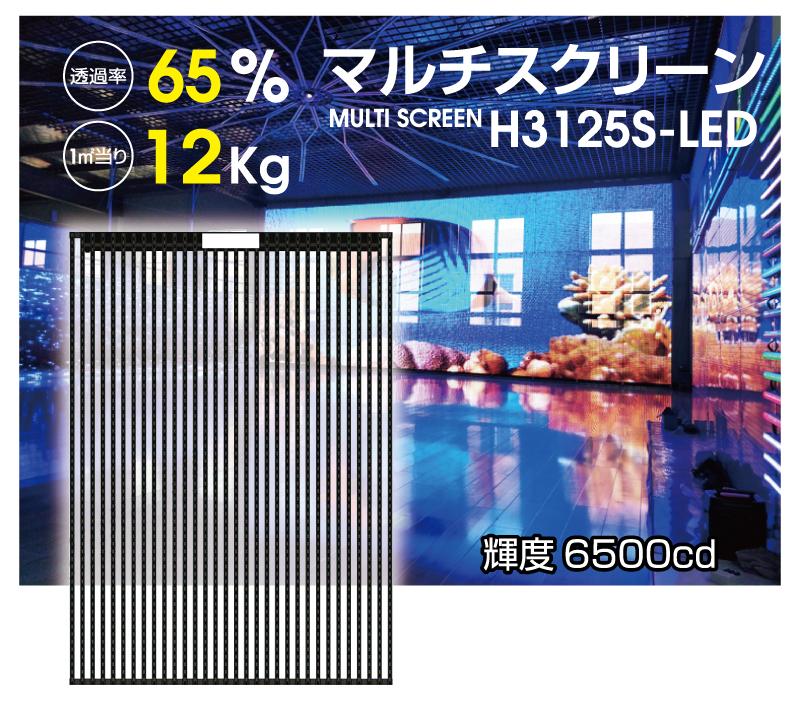 ディスプレイモジュールH3125-LED